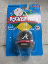 1997 Atlanta Braves Riddell Pocket Pros Baseball Mini Helmet