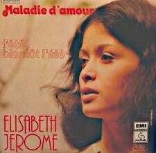 ++ELISABETH JEROME maladie d'amour/l'été bientot l'été SP 1976 EMI VG++