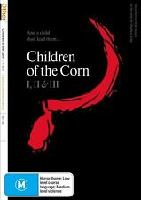 Children Of The Corn Collection 1 +2 + 3 I II III (DVD, 2010, 3-Disc Set)