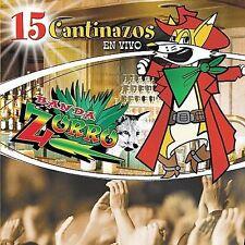Banda Zorro 15 cantinazos En Vivo CD New Nuevo Sealed