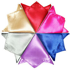 Lot of 26 Wedding Party Suit Pocket Hanky Square Silk Handkerchief KPA For Male