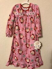 NEW - Girls Pink Elf on the Shelf Granny Gown A Christmas Tradition - 4T f87d48b2f