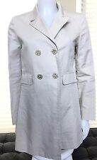 Authentic Tory Burch Beige Trench Coat, Size 6
