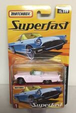 MATCHBOX 2005 SUPERFAST #1  1957 FORD THUNDERBIRD  k