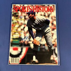 SANDY KOUFAX  Hand Signed On Cover Sports History Magazine May 1988