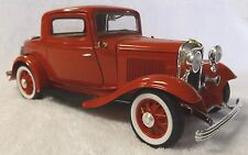 """VINTAGE DIECAST--1/18 ROAD LEGENDS--1932 FORD MODEL """"A"""" 3 WINDOW COUPE--NICE"""