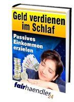 PASSIVES EINKOMMEN ERZIELEN / GELD verdienen im SCHLAF PDF eBook eBuch E-LIZENZ