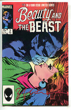 Beauty And The Beast 2 Marvel 1984 VF Signed Bill Sienkiewicz Dazzler X-Men