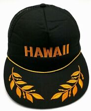 HAWAII trucker style black adjustable cap / hat - BDG Urban Outfitters