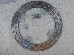 Rear brake disc 1991 91 Suzuki DR350R DR350 DR 350