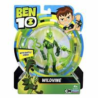 Ben 10 WILDVINE With Battle Vines 12cm 4.75in Collection Figure #76111 Brand New