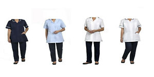 Healthcare Nursing Beauty Tunics woman girls ladies tops uniform shirts - T66