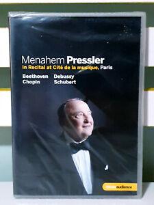 Menahem Pressler In Recital (Piano Recital Paris 2011) (Euroarts:[Region 2] DVD