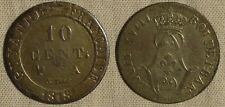 France - Possessions : Fr. Guyana 1818A 10 Ct  KM# 1   VF-XF  IR404
