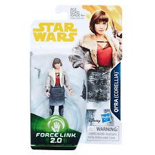 "STAR WARS FORCE LINK 2 - QI'RA (Corellia) 3.75"" Figure [SOLO][E1186]"