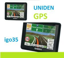 """UNIDEN IGO35 3.5"""" Car Navigation System with Junction View and Green Routing"""