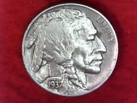 1937 P Philadelphia Mint Indian Head buffalo nickel #45