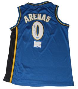 GILBERT ARENAS signed (WASHINGTON WIZARDS) Custom Stitched jersey BECKETT BAS