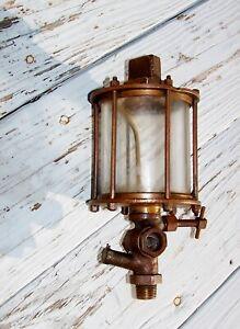 ESSEX Brass Corp Oiler Hit Miss Gas Engine Vintage Antique