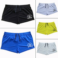 "Shorts Men 3"" Inseam Gym Shorts Casual Bodybuilding Fitness Workout Cotton Soild"