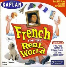 French For The Real World PC MAC CD kids learn foreign language life situations!
