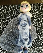Elsa Soft Plush Doll (18-20 Inches Tall)  From Disney Frozen on Ice