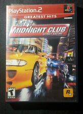 Midnight Club: Street Racing (Sony PlayStation 2, 2000)