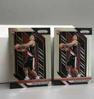 GARY TRENT JR 2018-19 PRIZM ROOKIE GREAT CONDITION PSA READY! RC LOT OF 2 !!🔥