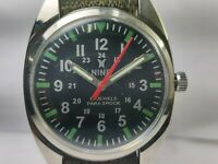 Vintage Nino Mechanical Handwinding Movement Analog Dial Mens Wrist Watch OG80