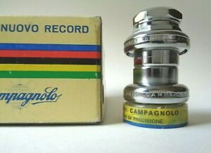 *NOS Vintage 1970s Campagnolo Nuovo Record steel headset (French)*