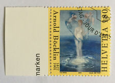 1 timbre suisse YT CH1696, Zum:CH 1034 FDC Arnold Böcklin