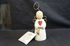 "Vintage Christmas Shelf Angel ""You're An Angel of a Friend"" Weighted"