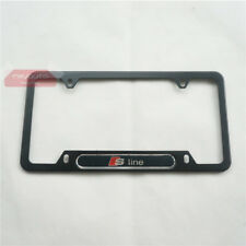 New Metal License Plate Frame For Audi A3 A4 A5 A6 A7 Q3 Q5 Q7 S3 S4 S5 S6 S7