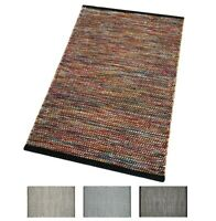 Tappeto multicolore cucina salotto bagno morbido lana cotone elegante moderno