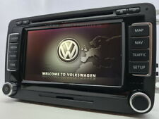 VW RNS510 LED DAB+ NAVIGATION HEADUNIT UPDATED SOFTWARE AND LATEST 2021 MAPS