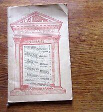 Astrologie revue ASTROSOPHIE Février 1935 Vol XII n° 2