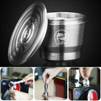 Edelstahl Nachfüllbare Kaffeekapsel Filter Kapseln Nespresso Wiederverwendbar DE