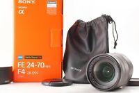 TOP MINT IN BOX Sony Vario-Tessar T* FE 24-70mm f4 ZA OSS E-Mount Lens JAPAN