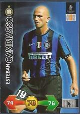 PANINI UEFA CHAMPIONS LEAGUE 2009-10 TRADING CARD-INTER MILAN-ESTEBAN CAMBIASSO