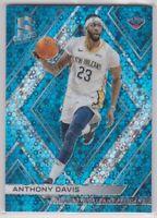 2017-18 Anthony Davis Spectra Blue Prizm Basketball Card #20/99 LAKERS NBA CHAMP