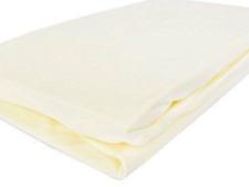 2 packs of Izziwotnot Jersey Interlock Fitted Pram/crib sheets Pairs  Lemon