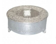 Polished Round Decorative Metal Cake Stand XRCs