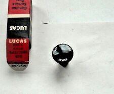 Lucas Heater Knob 54332086 Morris Minor TR3 TR4 XK120 XK150 Rover P4 etc neuf NOS