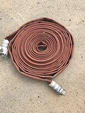"""Fire Hose, Pump ,flood Defence, 1.5""""  Dia X 17M Long With 1.5"""" Quick Connects"""