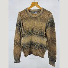 Dolce & Gabbana Virgin Wool Alpaca Knit Autumn Sweater 44 S
