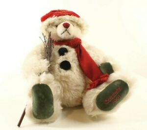 Hermann Bear Christmas 2001 Teddy Plush 43 CM Edition Limited