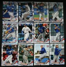 2019 Bowman Toronto Blue Jays Paper Base Team Set 12 Baseball Cards