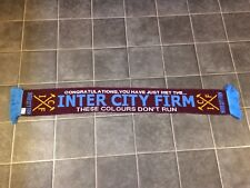 West Ham ICF Hooligan football écharpe-Neuf