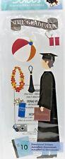 Male Grad Graduate Graduation Diploma Camera Jolee's 3D Sticker