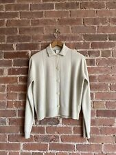 Vintage Jil Sander Women's Sweater 100% Cashmere, Size 38 Italy